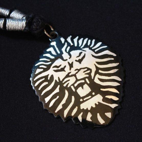 Bidri Lion Pendent Online - GiTAGGED 3