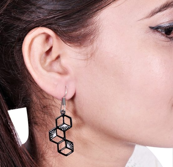 BIDRI WORK SYMETRIC Earrings