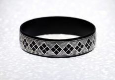 Bidriware-Rhombus-Single-Bangle