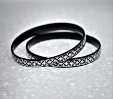 Bidriware-Star-Bangle Pair
