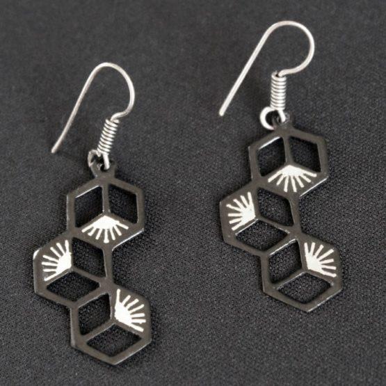 Silver Earrings - GiTAGGED 3