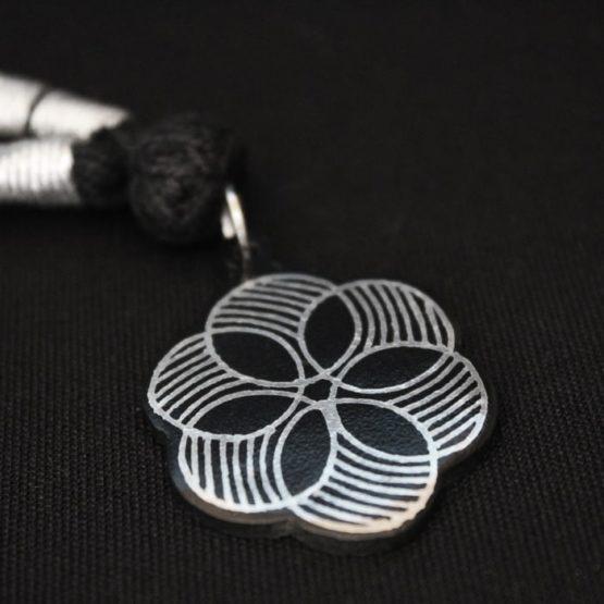 Bidriware Silver Necklace 3