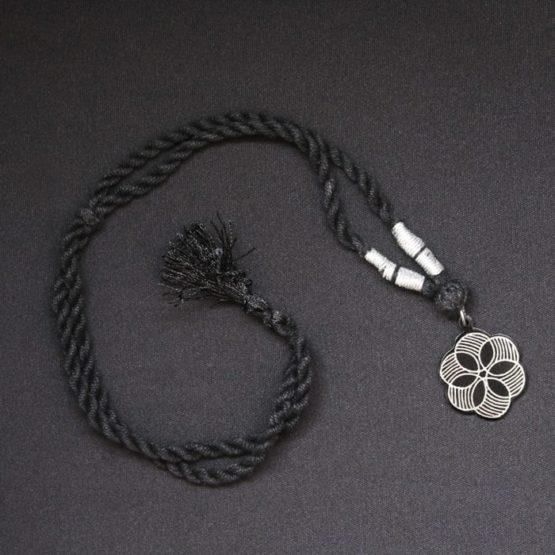Bidriware Silver Necklace 4