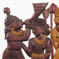 Bastar Wooden Artwork (2)