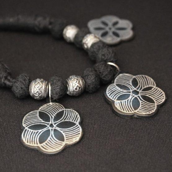 Bidri Work Necklace Online 3