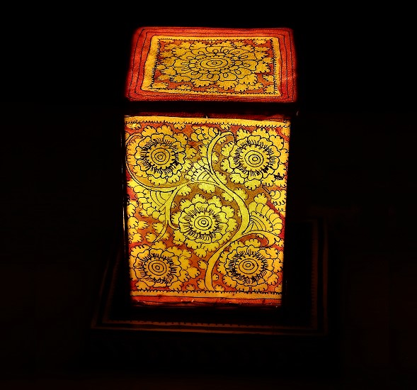 Handmade table lamp gitagged exclusive handmade crafts handmade table lamp red mozeypictures Images