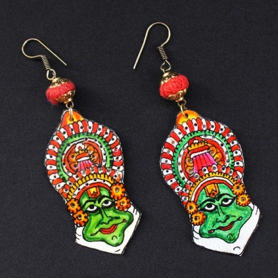 kathakali Earrings - GiTAGGED 2