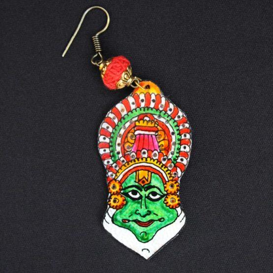kathakali Earrings - GiTAGGED 4