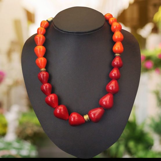 Channapatna Red Necklace 1