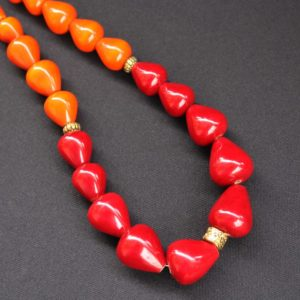 Channapatna Red Necklace 2