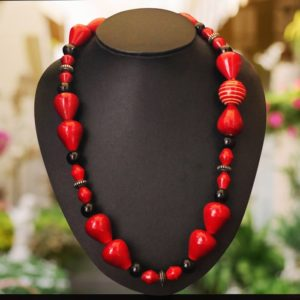 Channapatna Seed Bead Necklace Online 1