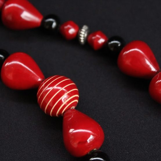 Channapatna Seed Bead Necklace Online 3