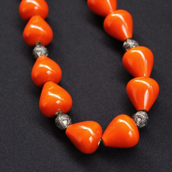 Channapatna Wooden Bead Necklace 2