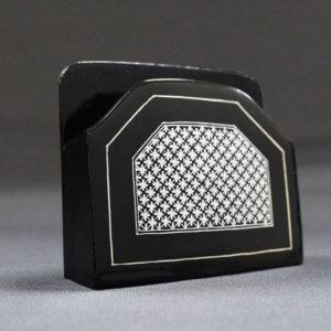 Bidriware Silver Inlay Visiting Card Holder 1
