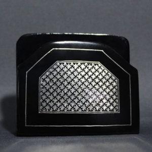 Bidriware Silver Inlay Visiting Card Holder 2