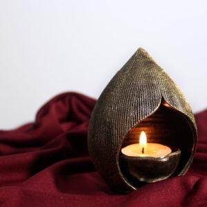 Villianur Terracotta Oil Lamp 1