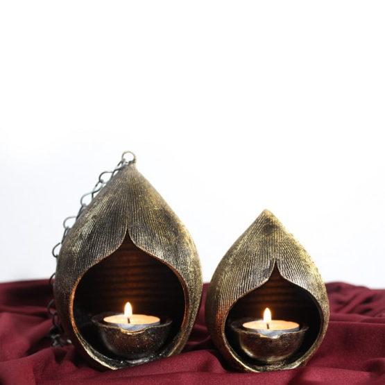 Villianur Terracotta Oil Lamp 3