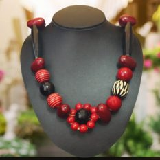 Channapatna Wooden Bead Necklace 1