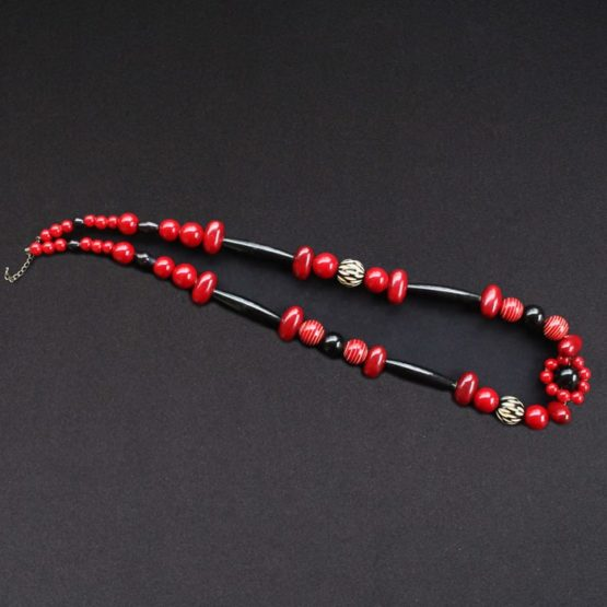 Channapatna Wooden Bead Necklace 4