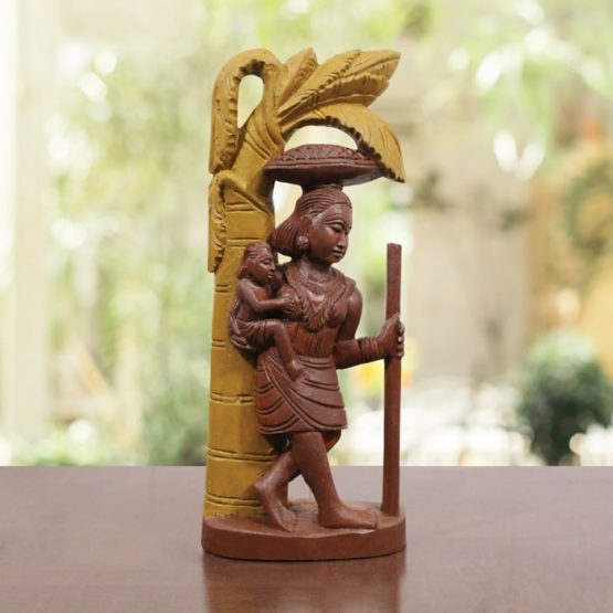 Bastar Wooden Tribal Art - GI TAGGED (1)