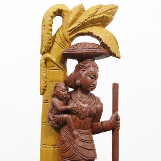 Bastar Wooden Tribal Art - GI TAGGED (2)
