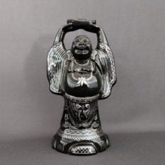 Bidriware Silver Inlay Happy Buddha A1