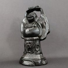 Bidriware Silver Inlay Happy Buddha A2