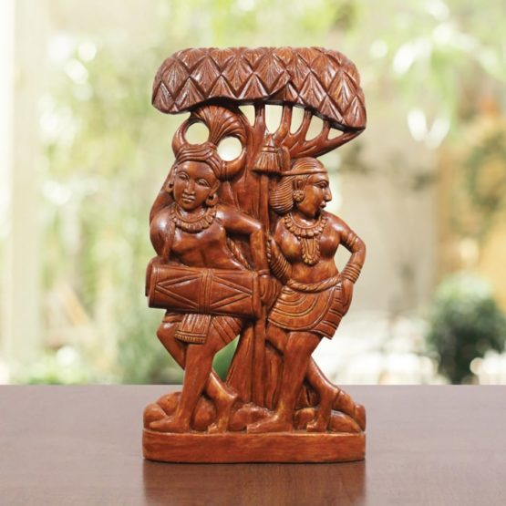 indian tribal wooden art - GiTAGGED (1)