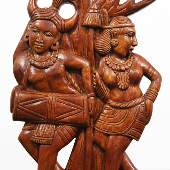 indian tribal wooden art - GiTAGGED (3)
