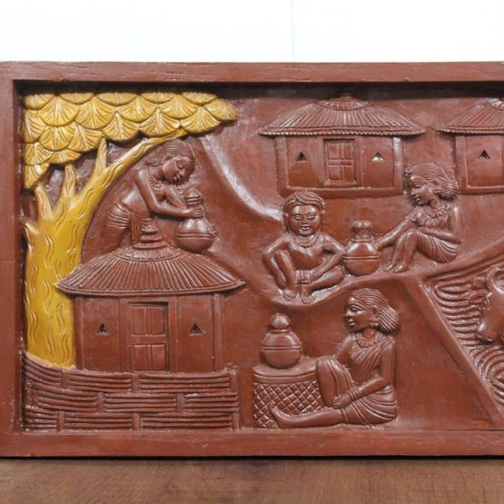 Bastar Wooden Handmade Agricultural Artwork (2)