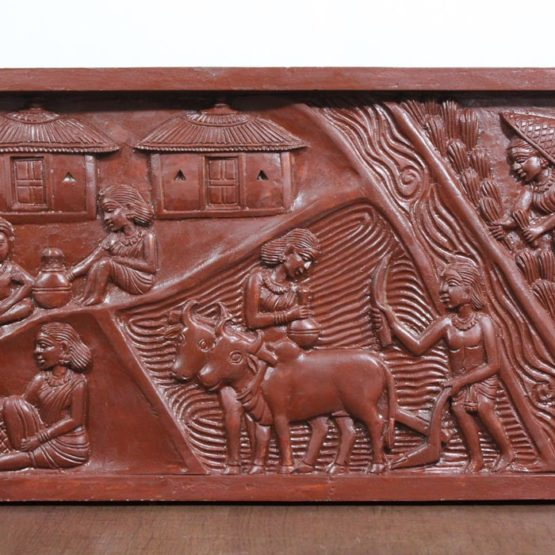 Bastar Wooden Handmade Agricultural Artwork (3)