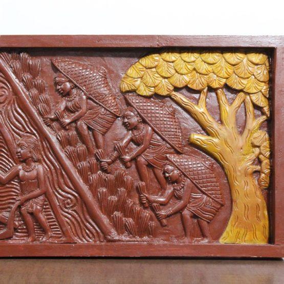 Bastar Wooden Handmade Agricultural Artwork (5)