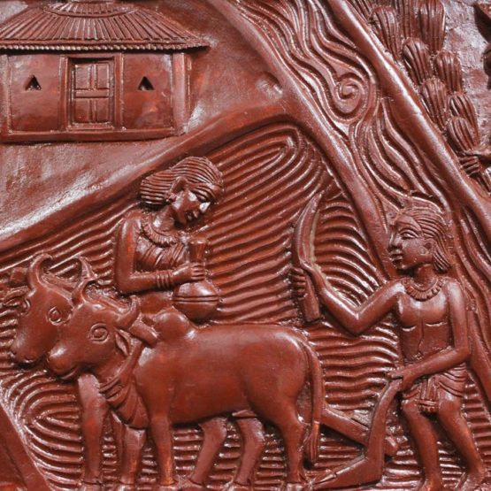 Bastar Wooden Handmade Agricultural Artwork (6)