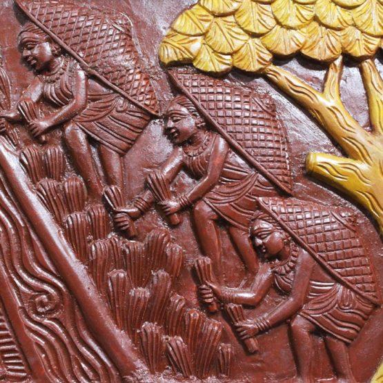 Bastar Wooden Handmade Agricultural Artwork (8)