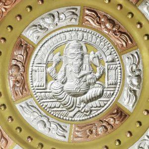Thanjavur Art Plate Ganesha Online (2)
