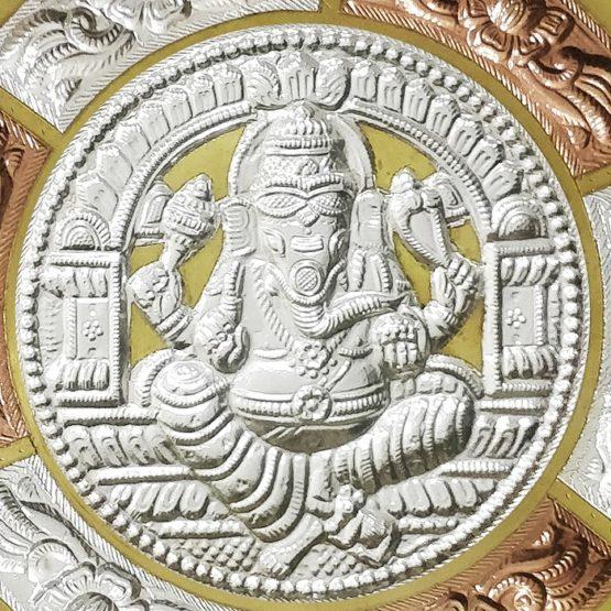 Thanjavur Art Plate Ganesha Online (3)