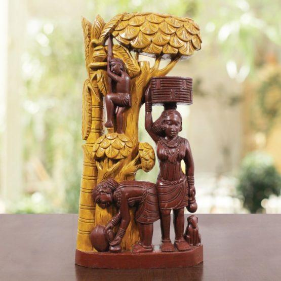 Wooden Decorative item online (1)