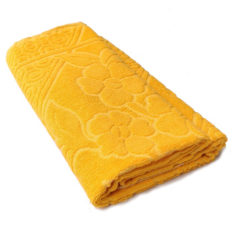 yellow towels