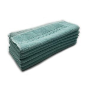 turquoise towels