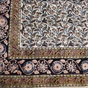 kalamkari floral motifs