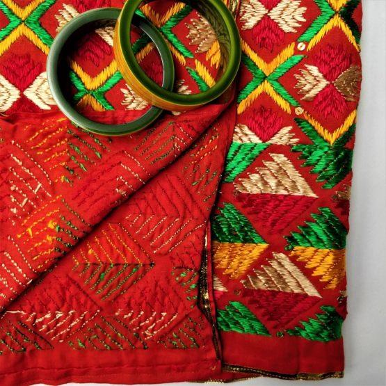 phulkari embroidery