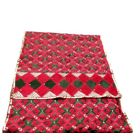 phulkari chunni styles