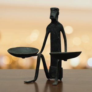 Bastar Two Hand Candle Stand (1)