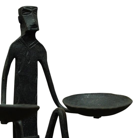 Bastar Two Hand Candle Stand (3)