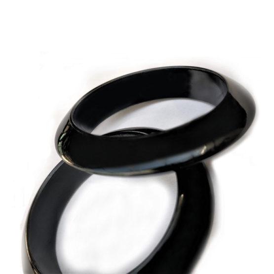 black bangles