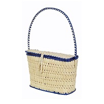 Authentic Geographic Indications tagged Eco friendly Chettinad kottan and Screw Pine craft Bags and Baskets for Dining table, Home, Living, Sustainable fashion and Ethnic fashion