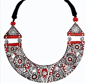Authentic Geographical Indications tagged Bidriware Silver, Channaptana Wooden & AP Leather Neckwear for Men and Women