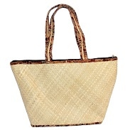Authentic GI Tagged Kerala Screw Pine Craft - Handcrafted Eco friendly Bags, Baskets, Slippers