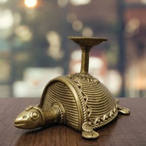 Bastar Dhokra Tortoise Art 1