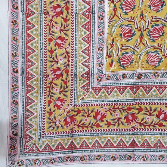 handmade bed sheet designs